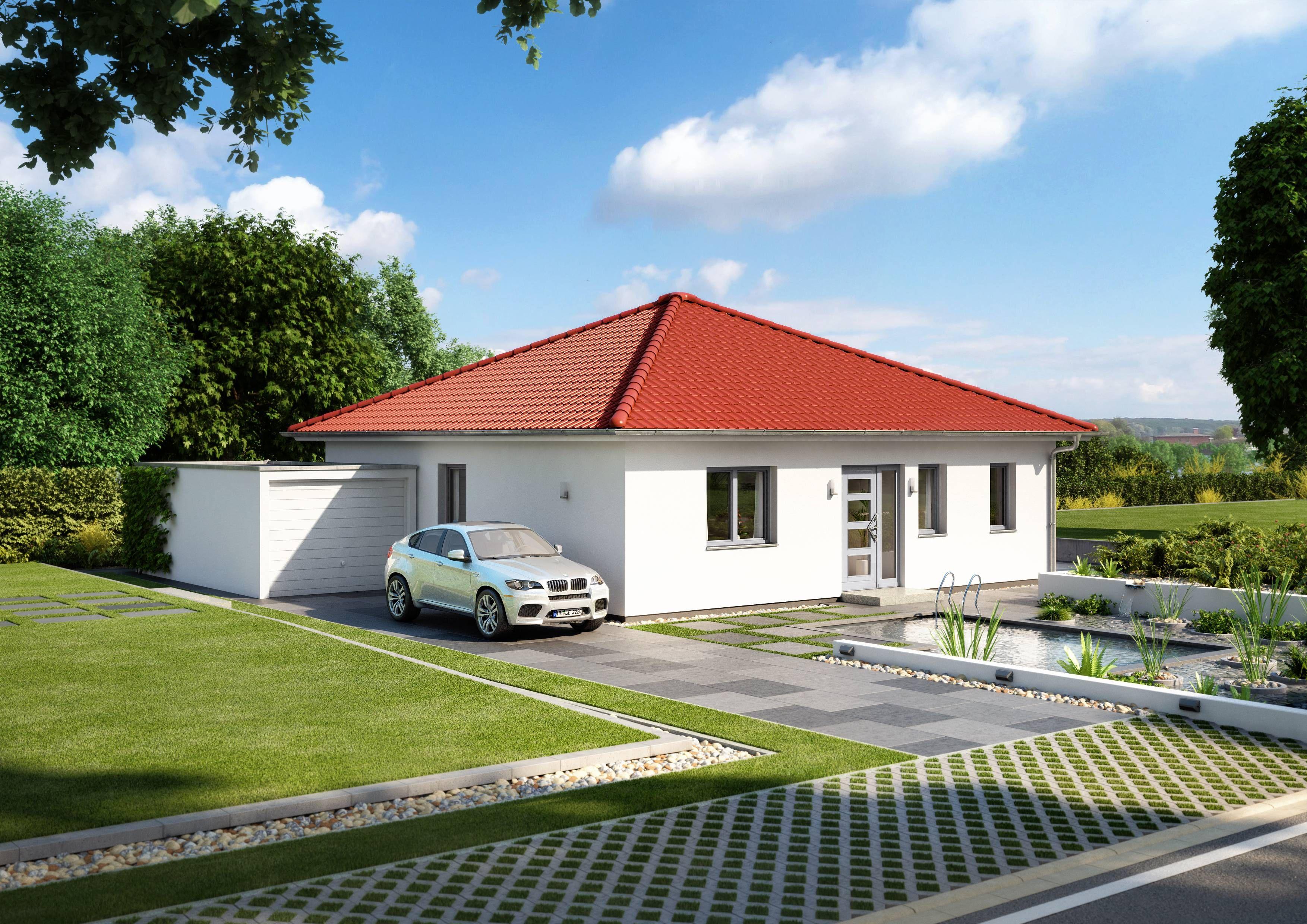 was kostet ein schlüsselfertiges fertighaus   bungalow haus ...