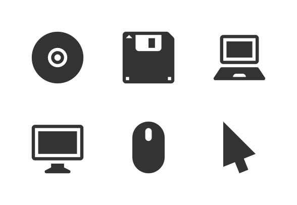 Computer Glyph 16x16 Icons By Arthur Shlain 16x16 Icons Glyphs Icon