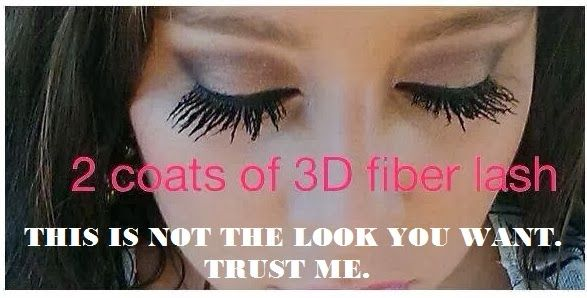 a7929fee383 fiber mascara fail | Yes, this is a picture shared by someone who SELLS  this product. Ugh.