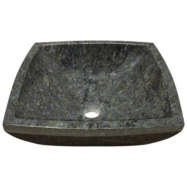 Great MR Direct Butterfly Blue Granite Vessel Sink bathroom sink Size