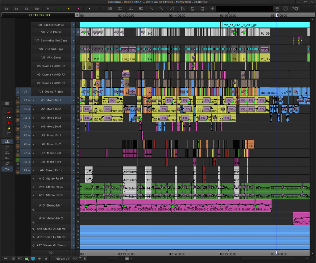 Dissecting a Hollywood Editor's Avid Workspace | Editing