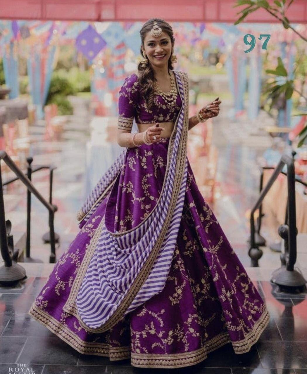 dbc6d8751b45ef Indian designer Crop Top Lehenga bollywood suit lehenga Choli For ...