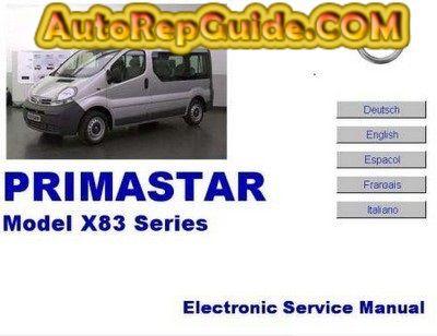 download free nissan primastar renault trafic opel vivaro repair rh pinterest ca nissan primastar manual pdf nissan primastar manual de taller