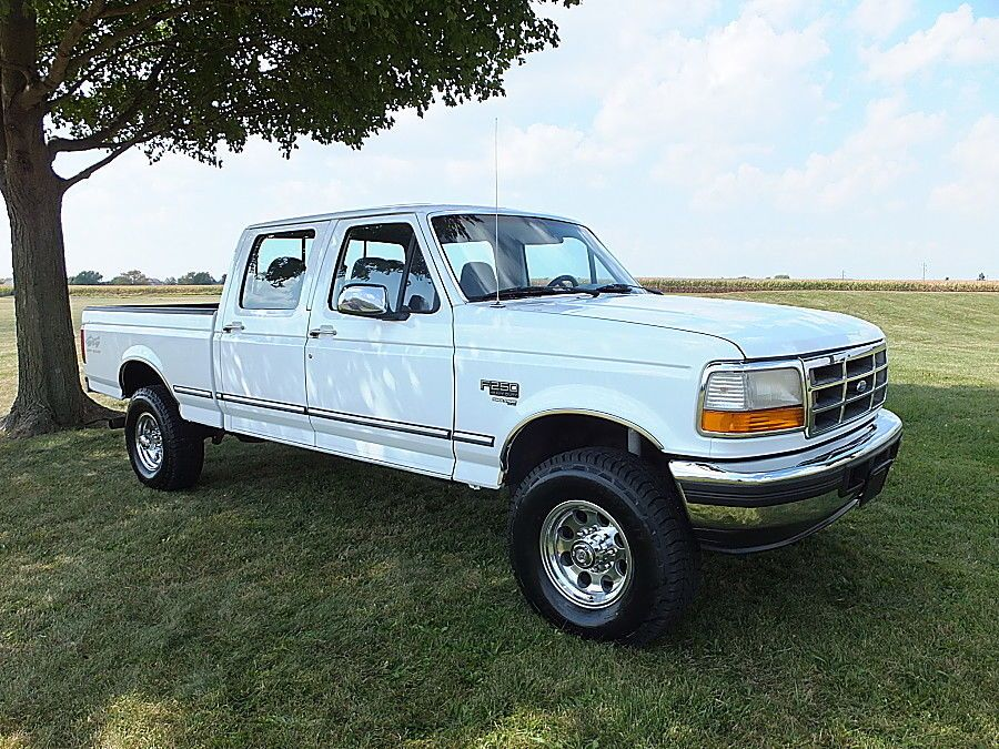 1997 Ford F 250 Rust Free Obs Crew Cab Short Bed 7 3 4x4 1997 Ford F250 Crew Cab Short Bed 4x4 7 3 Powerstroke Diese Powerstroke Classic Ford Trucks Old Trucks
