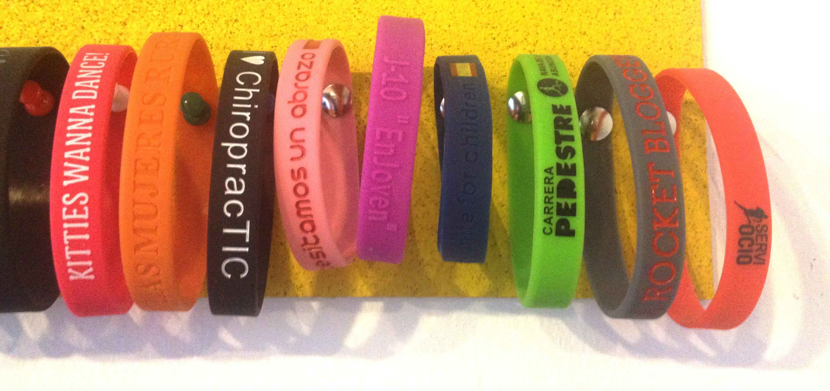 pulseras silicona personalizadas barcelona
