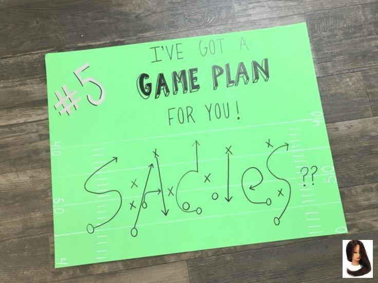Cute Sadies football proposal idea! #creatingcourtney #ohs #sadies #football #pr #homecomingproposalideas
