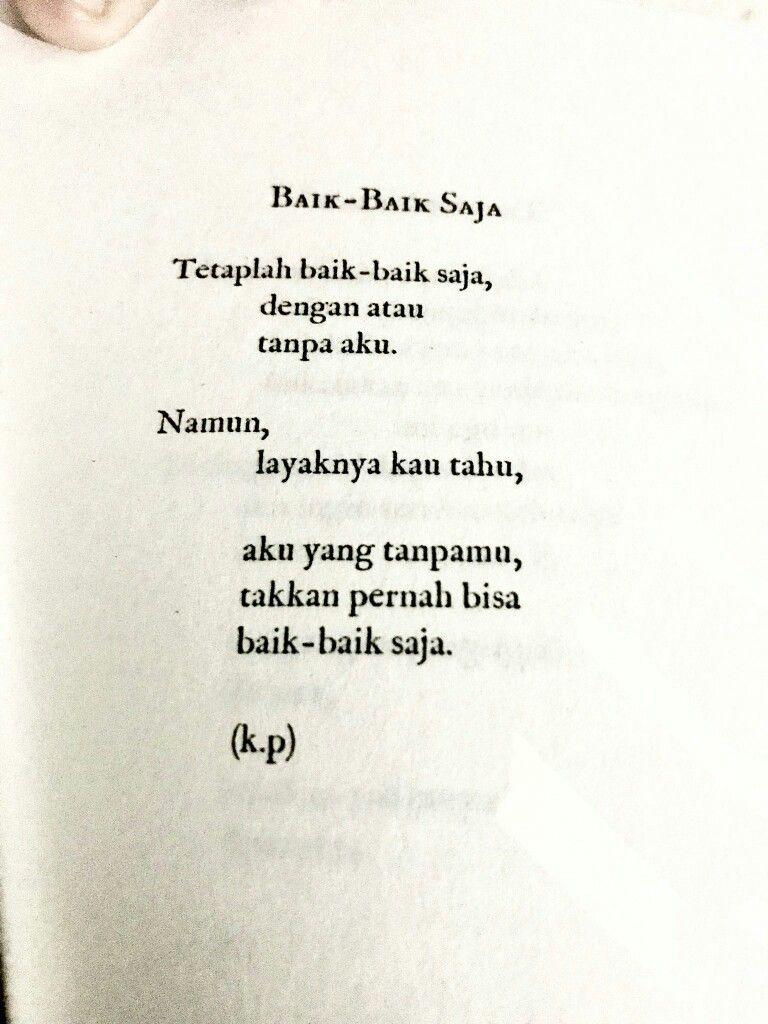 Pin Oleh Josephine Aetrb Di Indonesian Quotes Kutipan Buku