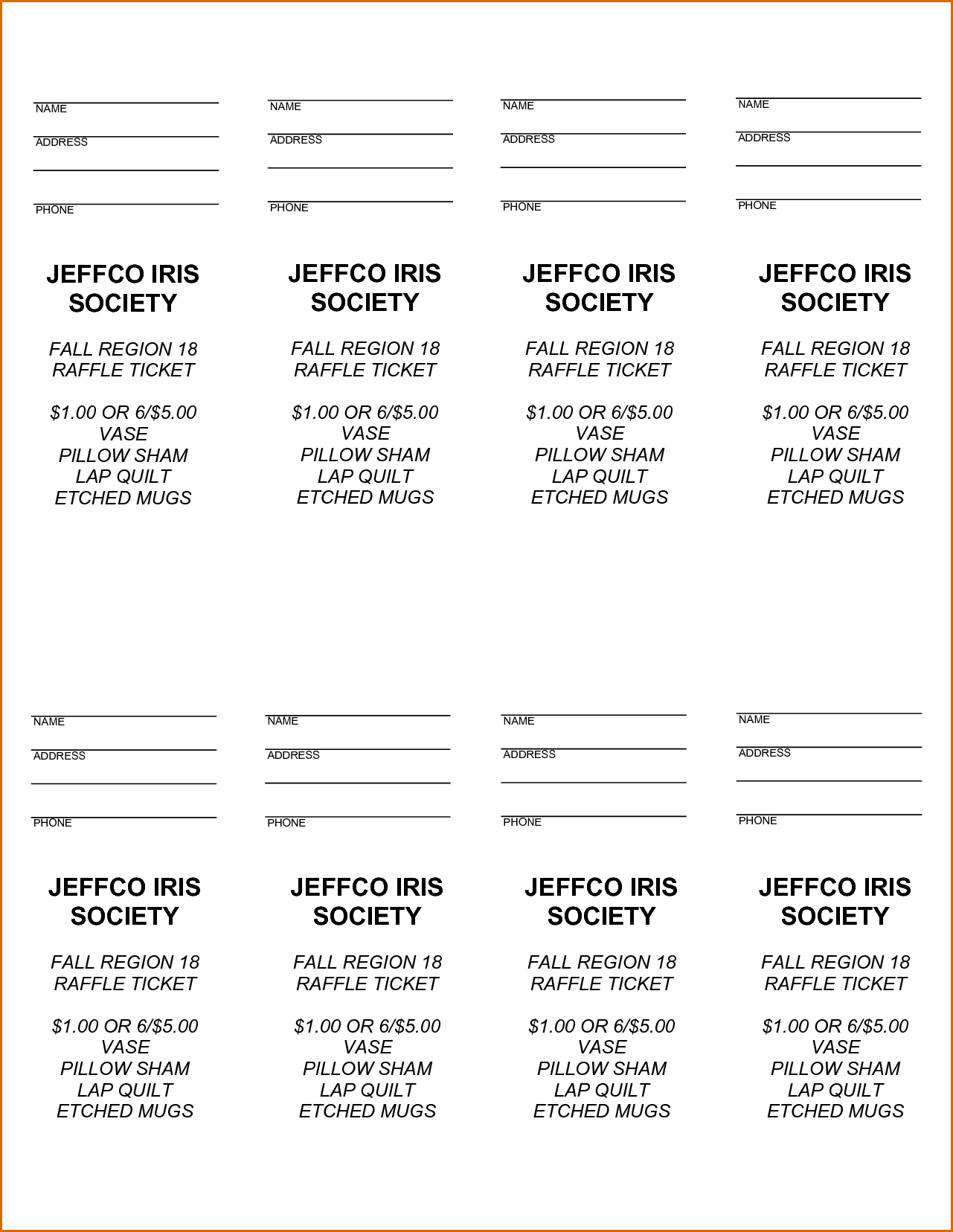 graphic regarding Free Printable Raffle Ticket Template Download identify Pin through Joanna Keysa upon Absolutely free Tamplate Ticket template