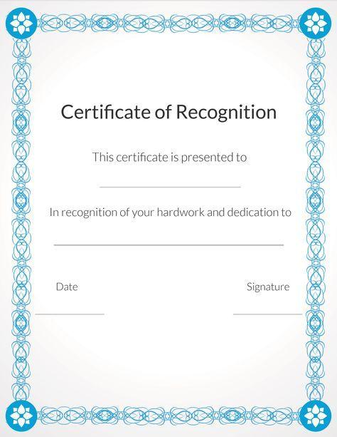 Free, printable volunteer recognition and appreciation certificates ...