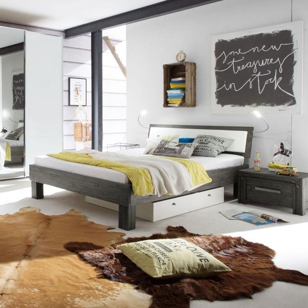Modernes Schlafzimmerset Caldera Im Frischen Industrial Design
