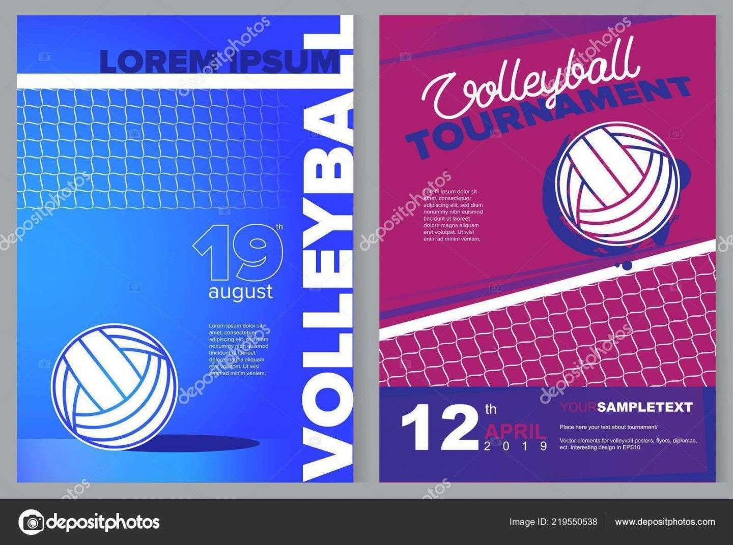 Get Our Sample Of Volleyball Tournament Flyer Template In 2020 Sport Poster Sport Poster Design Flyer Template