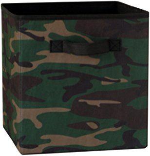 Cosco Products Fabric Storage Bin, Camouflage
