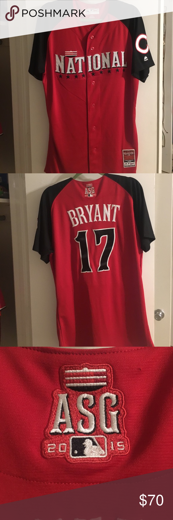 fa8c528fbeb ... closeout kris bryant all star jersey 2015 national league all star game  cincinnati oh. cubs