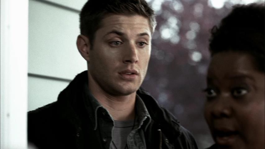 Home: Forgive Dean he's not the sharpest tool in the shed (the look on his face)