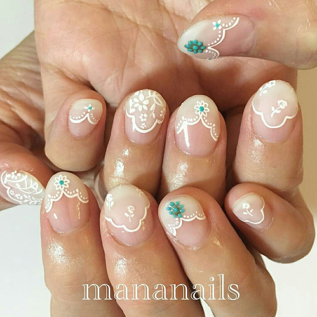 Pin By Ginnie Walters On Gel Nail Designs Pinterest Manicure
