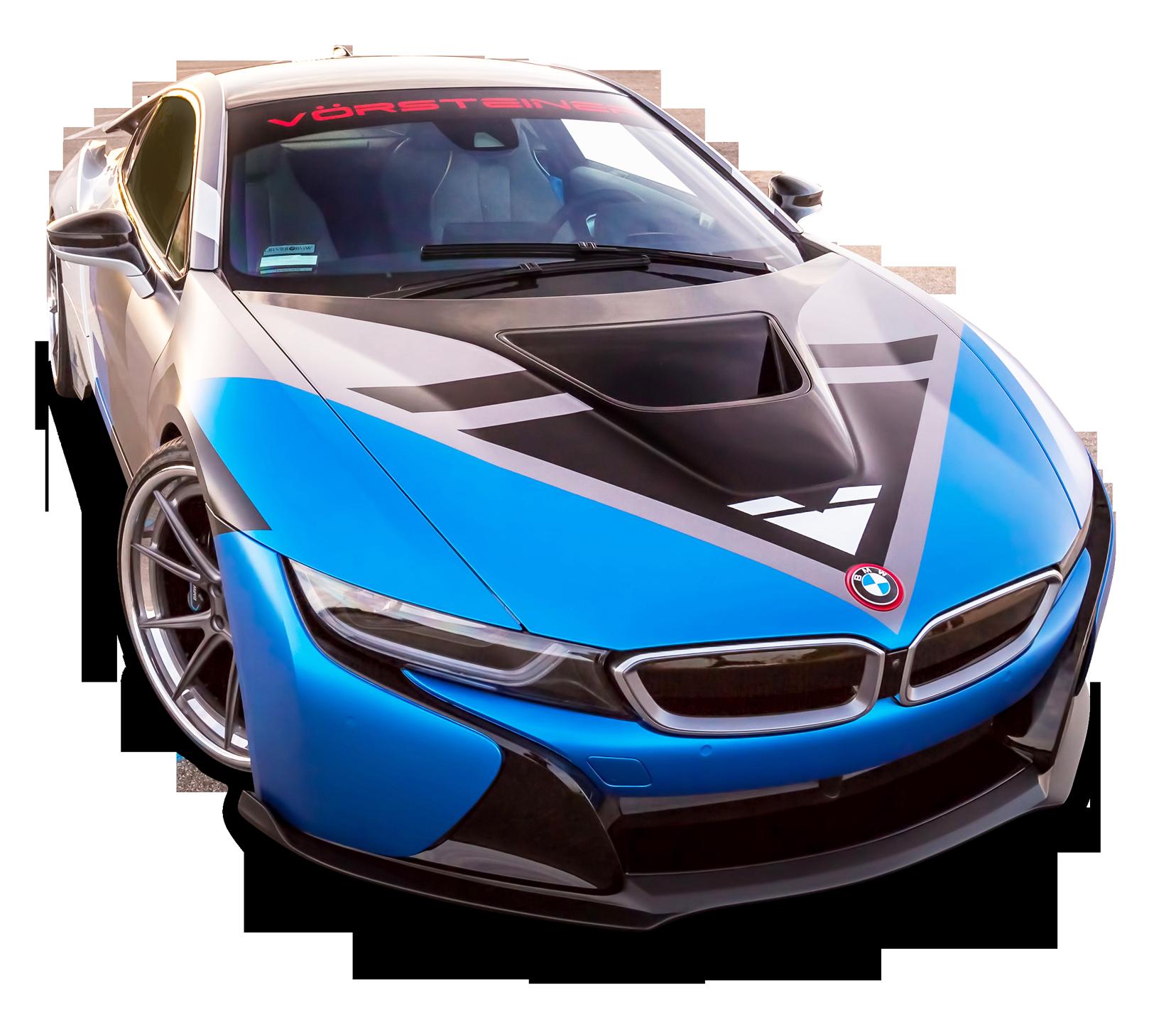 Vorsteiner Bmw I8 Vr E Blue Car Png Image Bmw I8 Blue Car Bmw