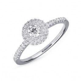 9f55f987f Bijuteria teilor: Inel aur si diamante Oscar Academy Awards, Heart Ring,  Diamond