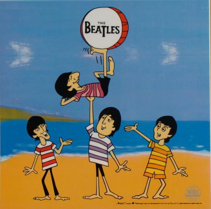 Beatles Cartoon Beatles Cartoon The Beatles Beatles Love