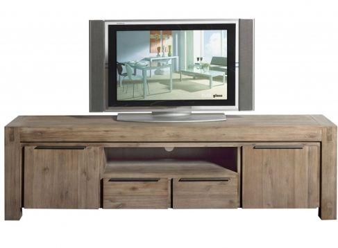 Tv Meubel Hout 190cm Description De Grootste Variant Van De TV   Wohnwand  Ideen Selber