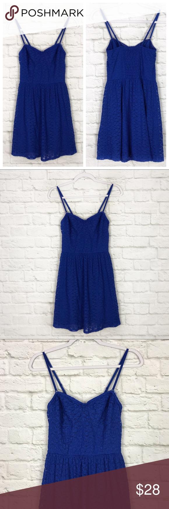 Victorias Secret Primary Blue Lace Summer Dress 4 Lace Summer Dresses Clothes Design Summer Dresses [ 1740 x 580 Pixel ]
