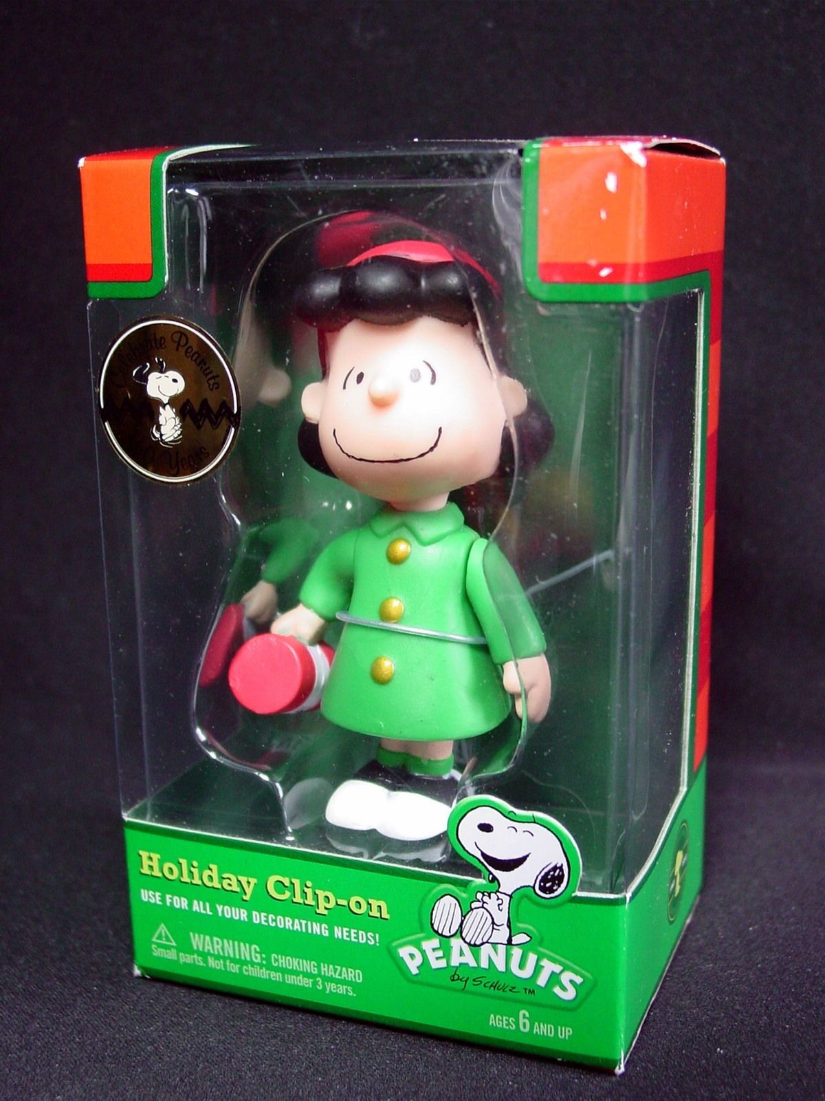 Peanuts Lucy Holiday Clip-On Ornament