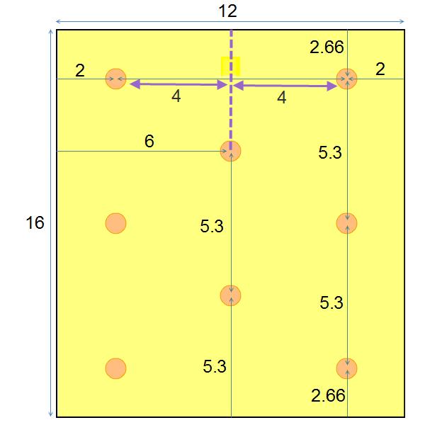 recessed lighting layout spacing