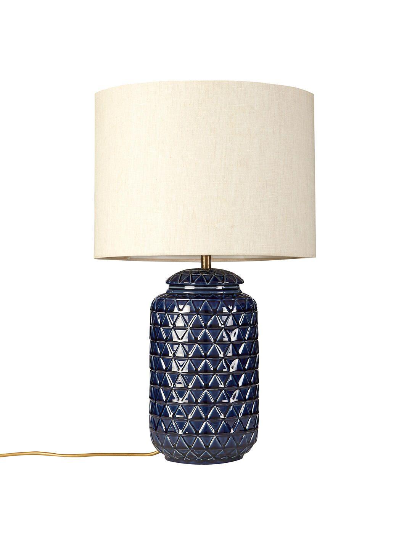 John Lewis & Partners Oshro Ceramic Lamp Base, Pink Lamp