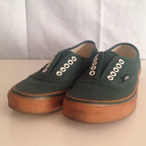 6.5 men's 8 women's //used Vans shoes | Encaje, Furgonetas de las ...