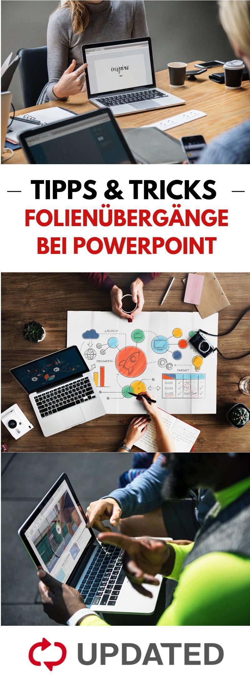 Powerpoint Folienubergange Ganz Einfach Anpassen Power Point Druckerpapier Folie