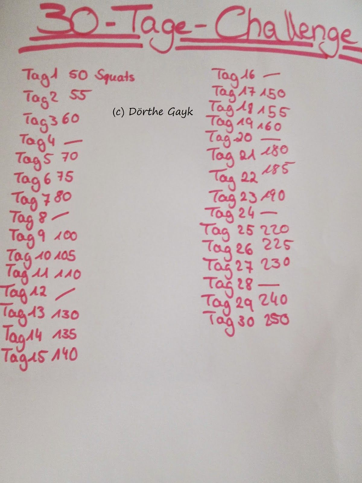 Beauty & Fashion & More: [More] Workout Challenge