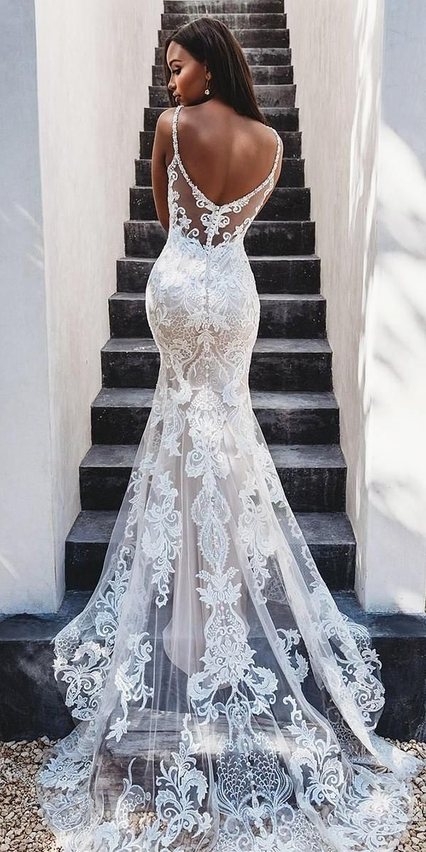 Photo of 36 lace wedding dresses that you will absolutely love – High …