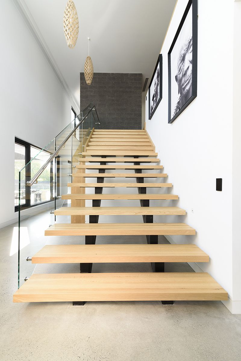 Stairs Staircase Architecture Polished Concrete