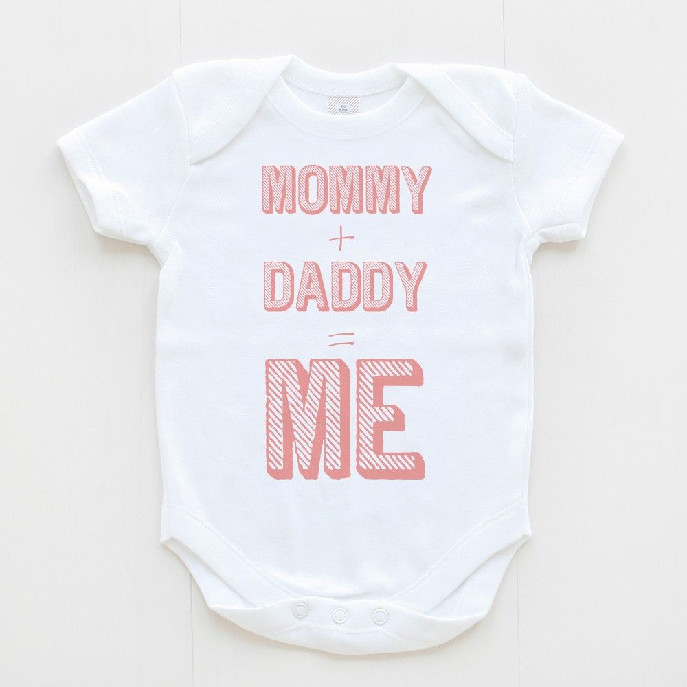 Mommy + Daddy = ME. Baby\'s got a headstart in Math, genius! | Tribe ...