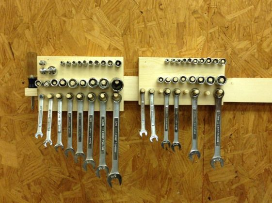French Cleat Storage For Hand Tools By Wilker
