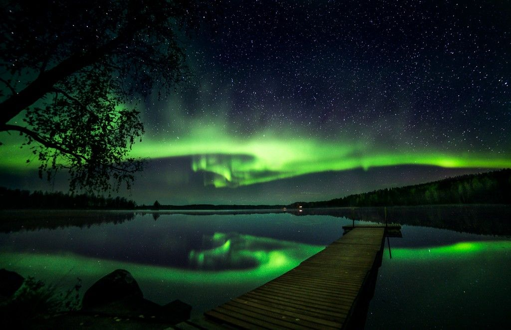 Incredible Northern Lights, Salla Finland | karjalainen.fi