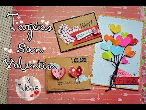 Videos De Manualidades Faciles Y Bonitas.Tarjetas Para San Valentin 3 Ideas Faciles Y Bonitas Nena