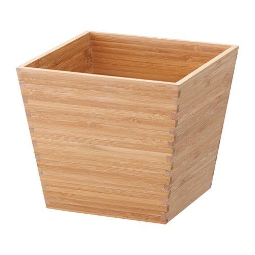 Wyposazenie Domu Bambou En Pot Cache Pot Planter Bambou