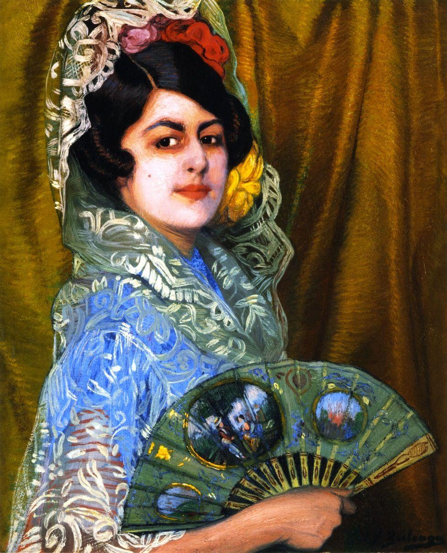 Dama con Abanico(also known as Lady with a Fan) Ignacio