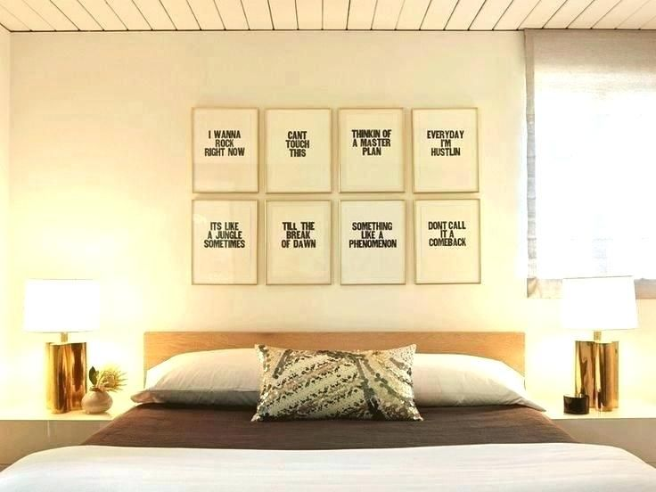 Above bed wall decor great the images art design bath also rh pinterest