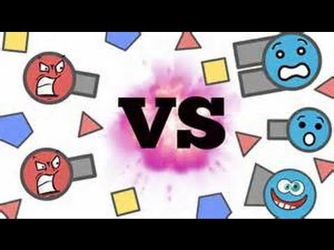 DIEP.IO TEAMS MODE and playing the new class tria-ngle