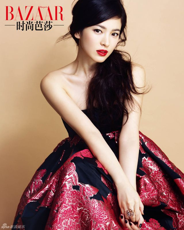 Song Hye Kyo's Interior Spreads for Harper's Bazaar China's October 2013 Issue : Couch Kimchi