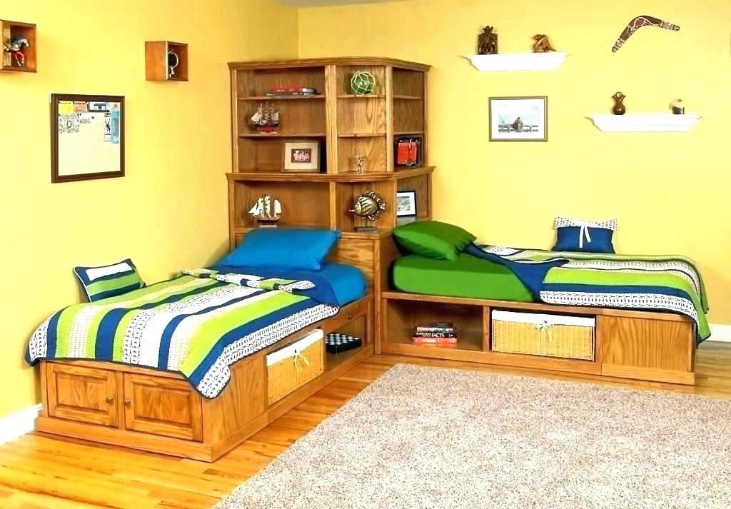 Image result for twin bed corner set Corner twin beds
