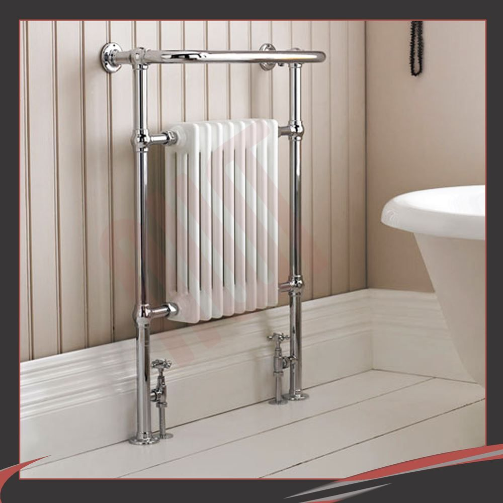 Natasha ladder rail straight modern electric towel radiator in chrome - Huge Designer Heated Towel Rails Warmers Bathroom Radiators