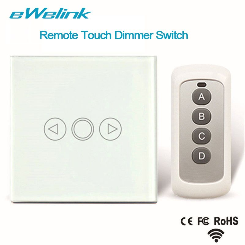 eWelink EU Standard Wireless Remote Control Light Dimmer Switches