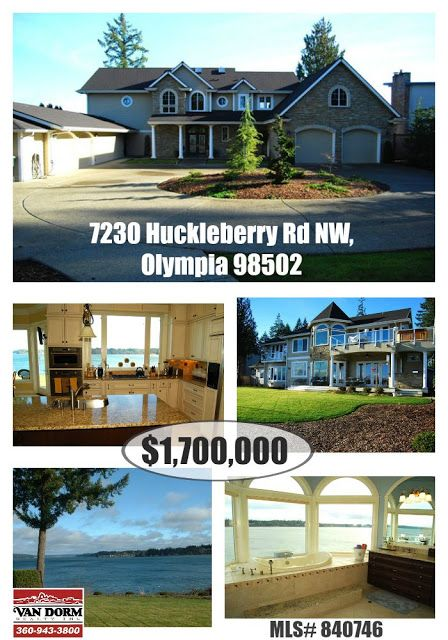 Olympia Real Estate: Feature Home Of the Week -- 7230 Huckleberry Rd
