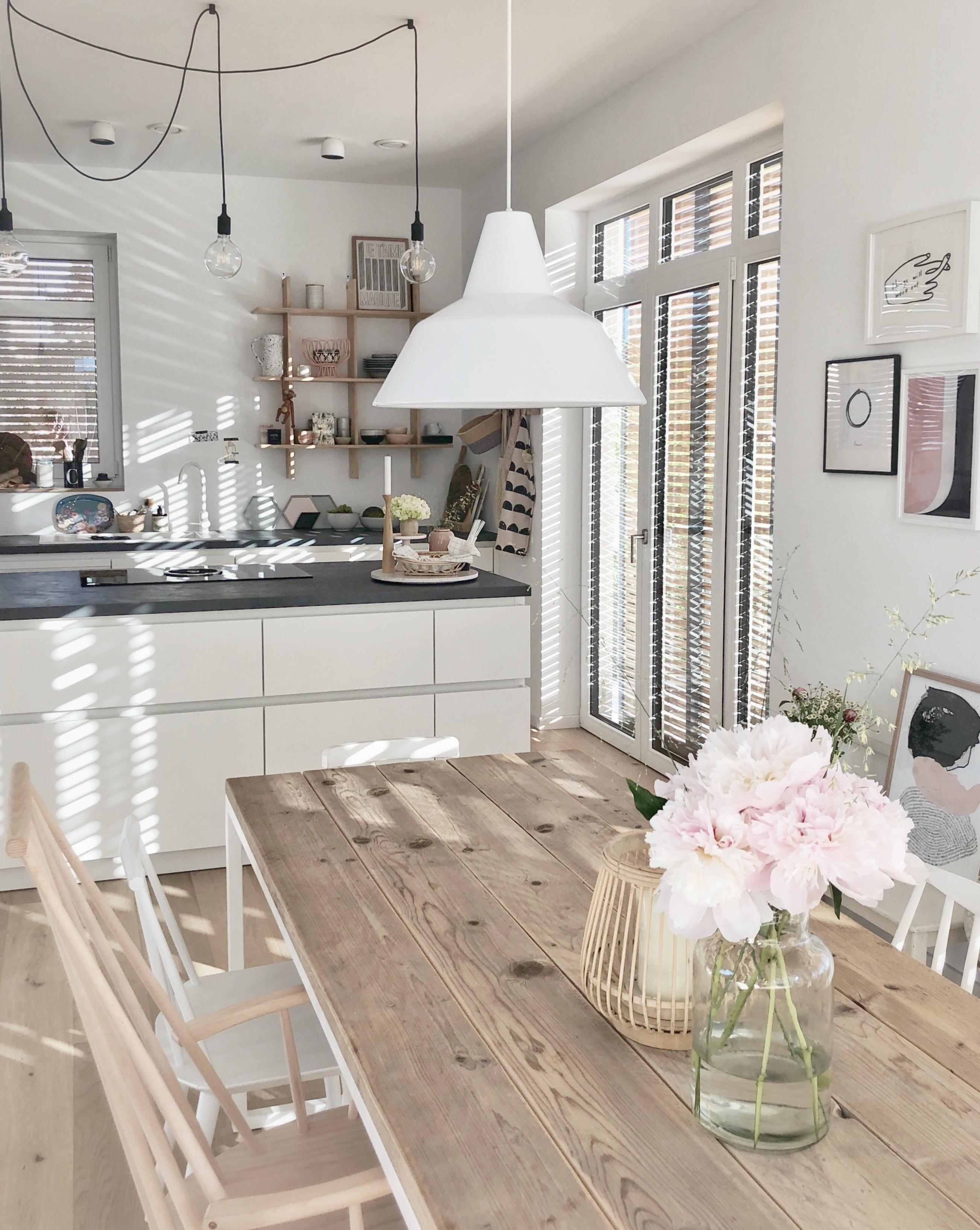 Kuchenliebe Kitchen Kuche Esstisch Weissekuche Nor Wohn Esszimmer Einrichten Und Wohnen Wohnzimmer Einrichten Und Wohnen