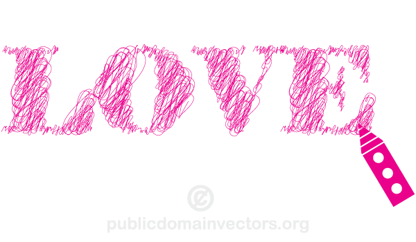 Scribble Sketch Lines Love Vector Text Line Love Sketches Free