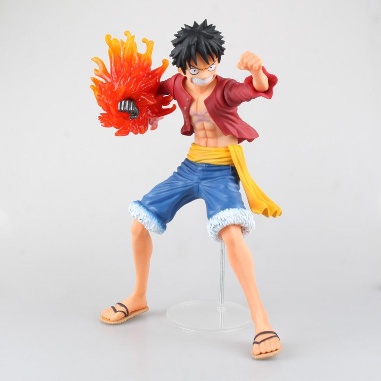 Anime One Piece X Plus The New World Monkey D Luffy Fire