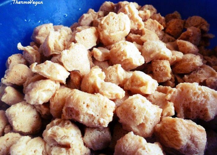 C mo hidratar soja texturizada carnes pinterest cocina vegetariana comida vegetariana y - Como cocinar soja texturizada ...