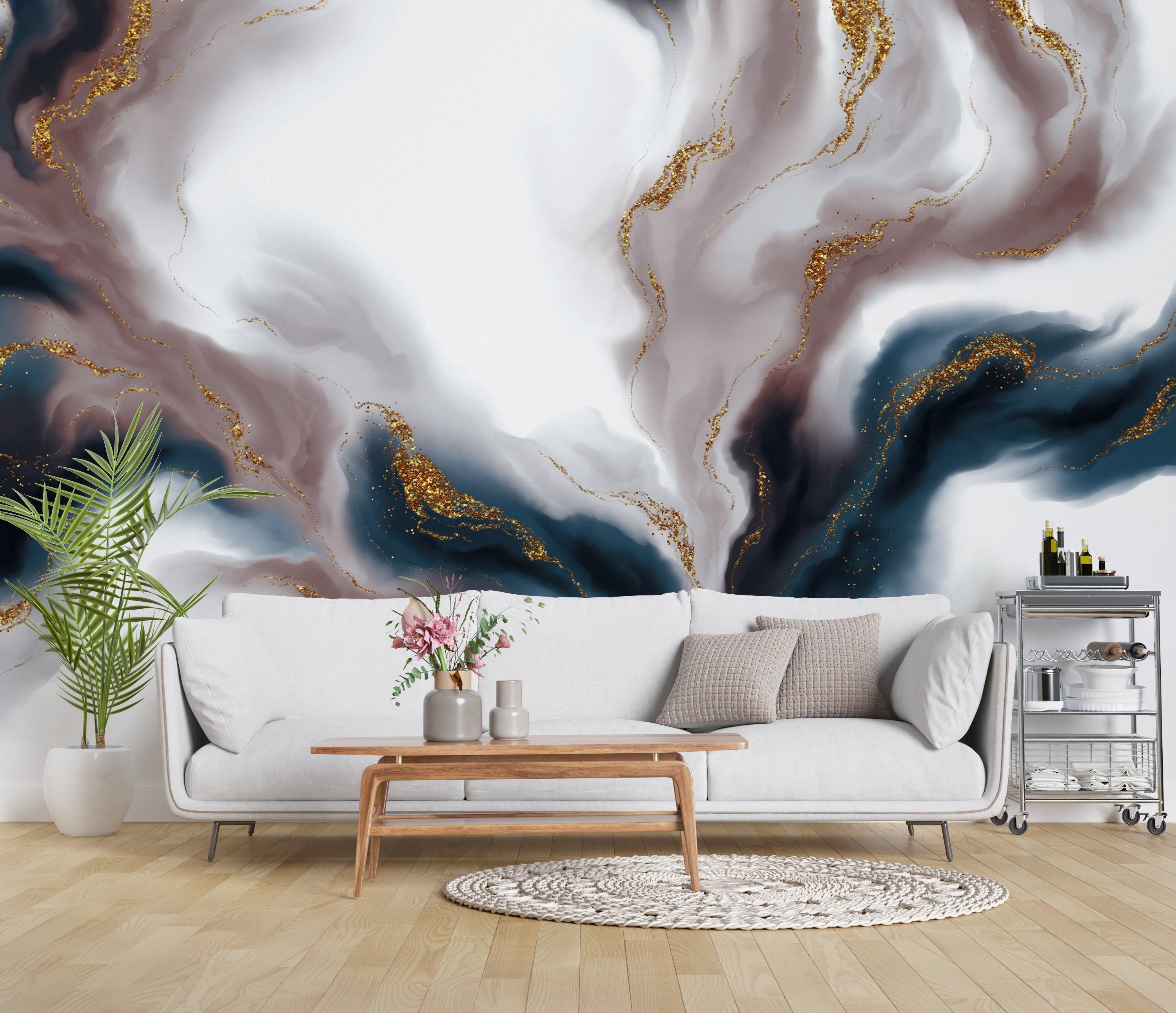 Abstract Colorful Smokes Luxury Modern Background Wallpaper Etsy In 2021 Gold Abstract Wallpaper Abstract Wallpaper Wallpaper